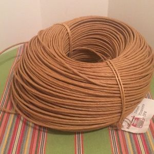 3 1/2 lbs Round Wicker For Weaving